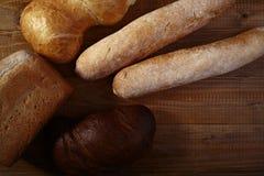 Fresh loafs of bread Stock Photos