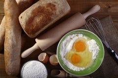 Fresh loafs bread Royalty Free Stock Photo