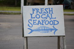Fresh Local Seafood Stock Images