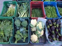 Fresh Locally Grown Produce, Greek Street Market Royalty Free Stock Image