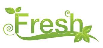 Fresh Logo Design Royalty Free Stock Photo