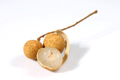 Fresh longan Stock Image