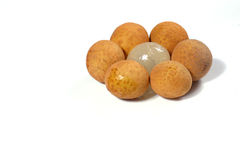 Fresh longan Royalty Free Stock Image