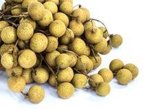Fresh longan fruits Stock Photography