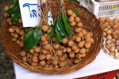 Fresh longan Royalty Free Stock Images
