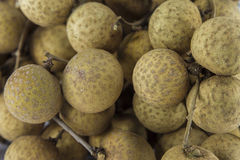 Fresh Longans fruits Stock Images