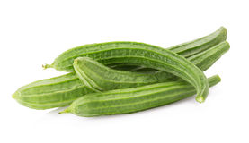 Fresh loofah on the white background Royalty Free Stock Image