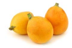 Fresh loquat fruit (Eriobotrya japonica) Royalty Free Stock Photography