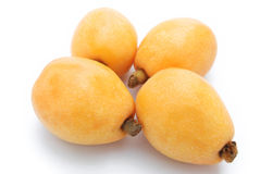Fresh loquat medlar fruit Royalty Free Stock Image