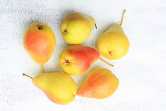 Fresh lovely pears Stock Photography