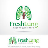 Fresh Lung Logo Template Design Vector Royalty Free Stock Photo