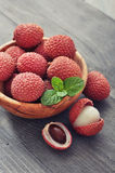 Fresh lychee Royalty Free Stock Photo