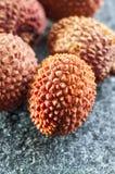 Fresh lychee fruit Stock Image