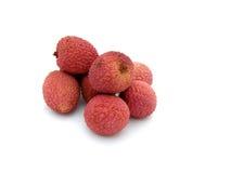 Fresh lychee fruits Stock Image