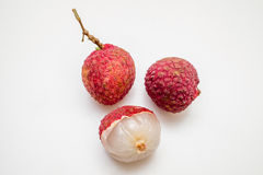Fresh lychee fruits Royalty Free Stock Photography