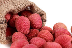 Fresh lychee Royalty Free Stock Photos
