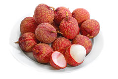 Fresh Lychee Series 02 Stock Photography