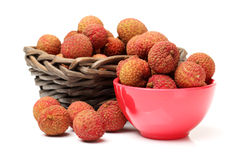 Fresh lychee Royalty Free Stock Photo