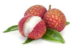 Fresh lychees Royalty Free Stock Photos