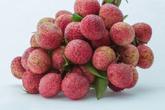 Fresh lychees Royalty Free Stock Photo