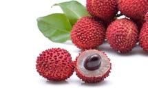 Fresh lychees Stock Image