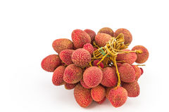 Fresh lychees Royalty Free Stock Photography