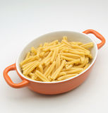 Fresh macaroni Stock Image