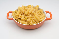 Fresh macaroni Stock Photos