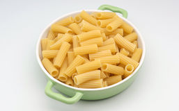 Fresh macaroni Stock Images