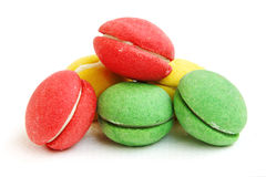 Fresh Macaroons Stock Photo
