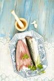 Fresh mackerel Royalty Free Stock Photography
