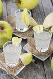 Fresh made Apple Liqueur Royalty Free Stock Image