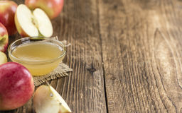 Fresh made Applesauce Stock Photo