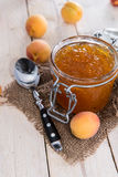 Fresh made Apricot Jam Royalty Free Stock Images