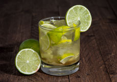 Fresh made Caipirinha Royalty Free Stock Photography