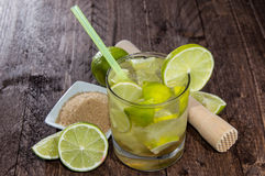 Fresh made Caipirinha Stock Images