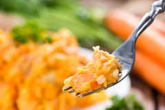 Fresh made Carrot Stew Royalty Free Stock Images