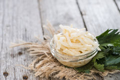 Fresh made Celeriac Salad Royalty Free Stock Images