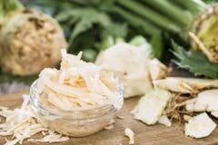 Fresh made Celeriac Salad Stock Photography