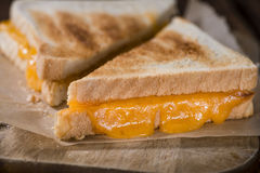 Fresh made Cheese Sandwich Royalty Free Stock Images