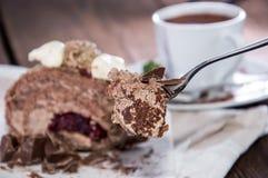 Fresh made Chocolate Cake Royalty Free Stock Photo