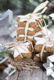Fresh made Cinnamon Cookies Stock Photography