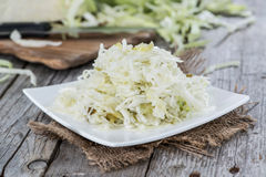 Fresh made Coleslaw Royalty Free Stock Photography
