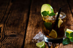 Fresh made Cuba Libre Stock Images