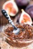 Fresh made Fig Jam Stock Photo