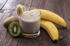 Fresh made fruity milkshake Stock Photography