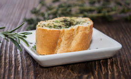 Fresh made Garlic Bread Royalty Free Stock Images