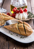 Fresh made Garlic Bread Royalty Free Stock Image