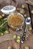 Fresh made Gooseberry Jam Royalty Free Stock Photo