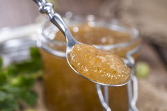 Fresh made Gooseberry Jam Royalty Free Stock Photos